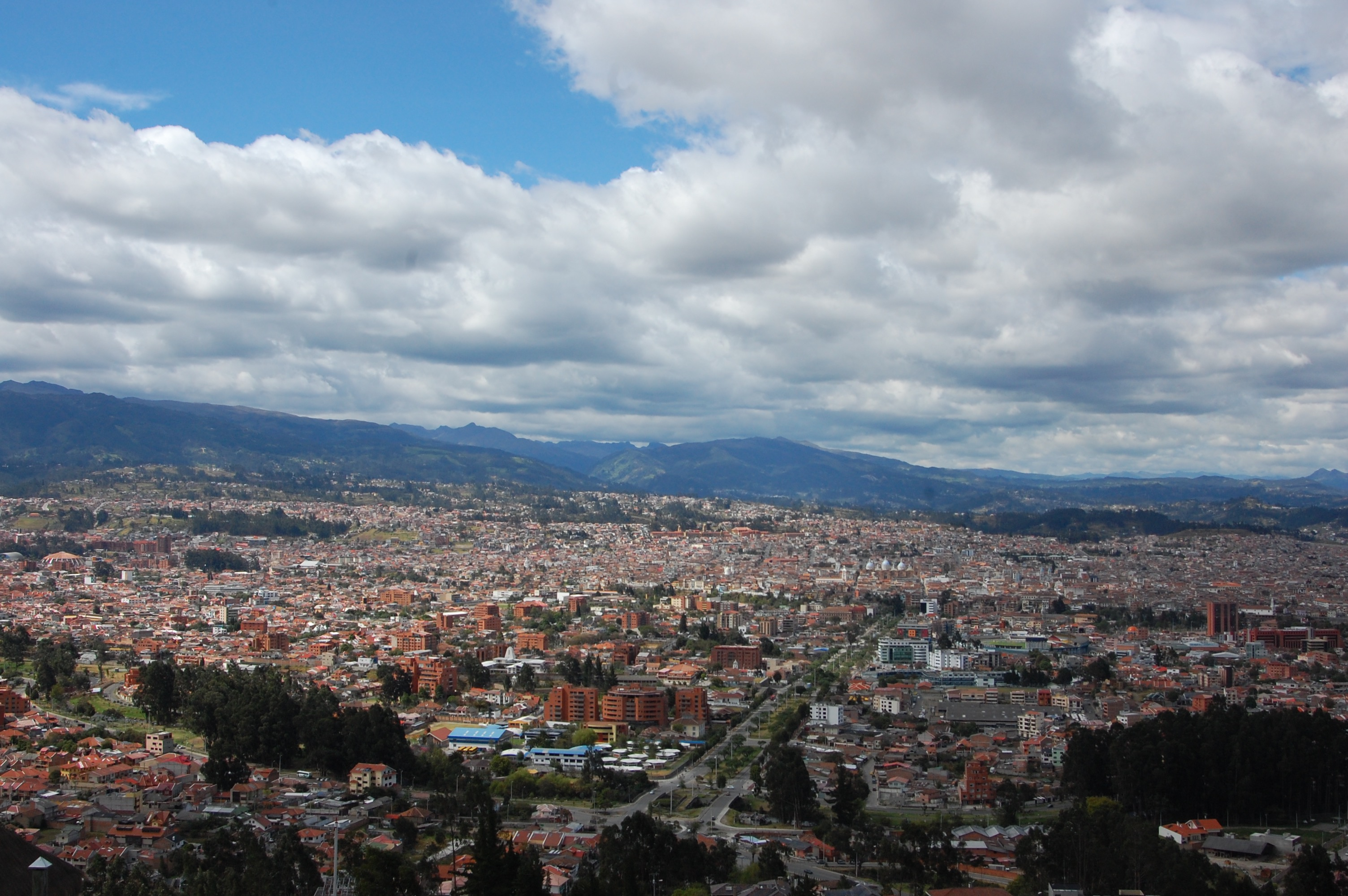 Views over Cuenca, Ecuador