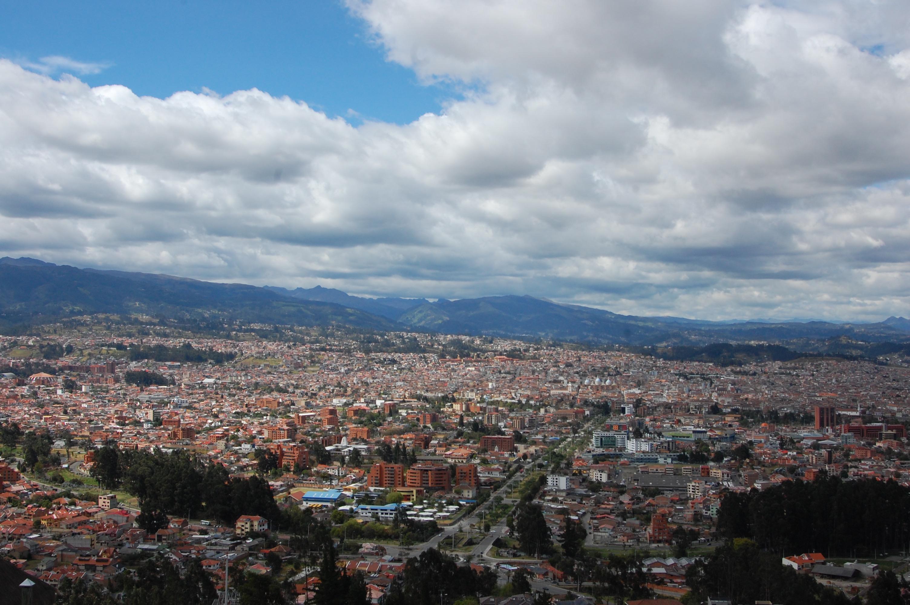 Views over Cuenca, Ecuador