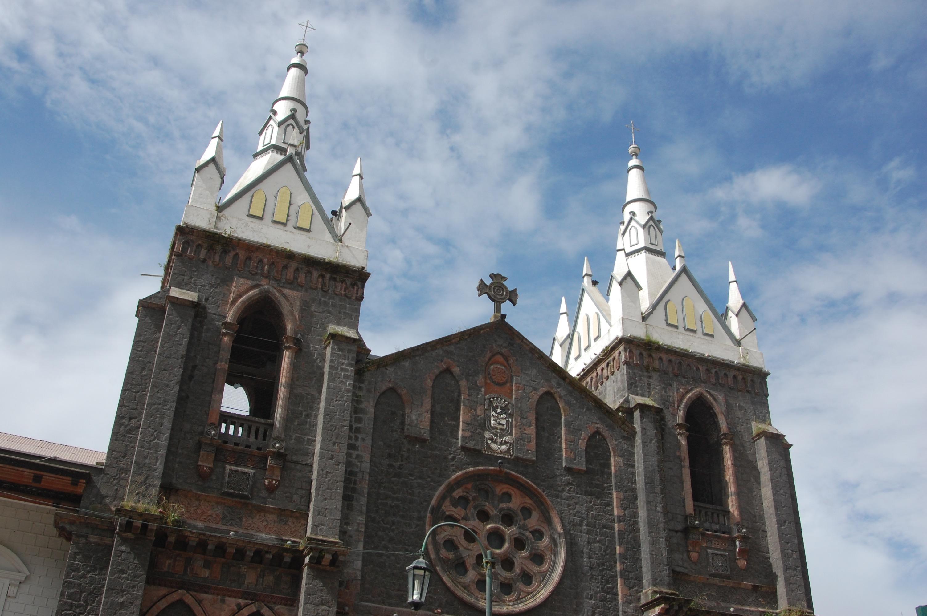 Church in Baños, Ecuador