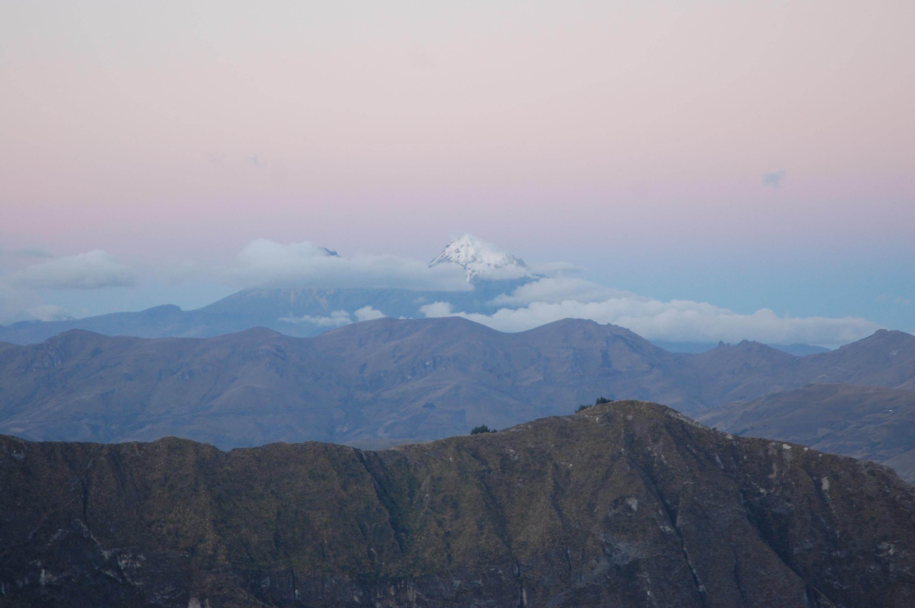Views from Laguna Quilotoa, Ecuador