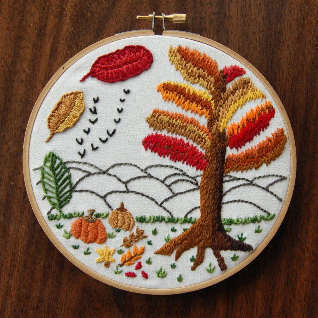 Fall Foliage - My First Design